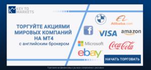 Торговля акциями на платформе МТ4