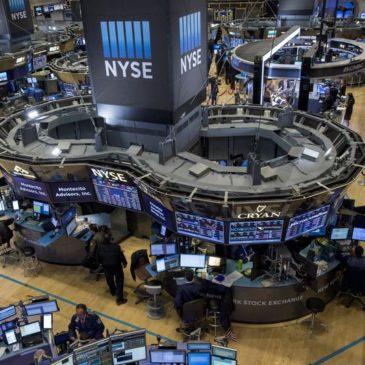 Торговые опасения привели к снижению Уолл-стрит