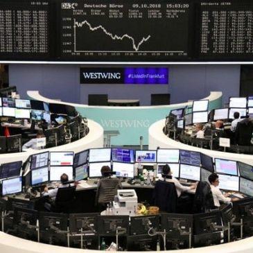 Индексы Уолл-стрит падают на фоне волнений о росте экономики