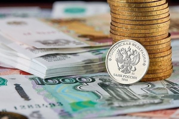 Российский рубль растёт