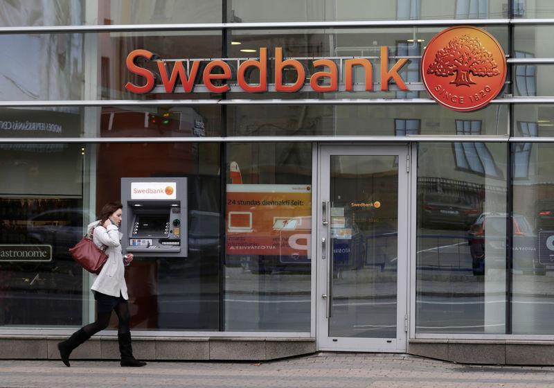 Жалоба на Swedbank про отмывание денег
