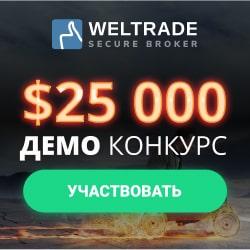 WELTRADE – бесплатный конкурс «HOT 100» на DEMO-счетах!