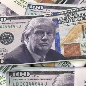 Курс доллара упал на фоне заявлений Трампа