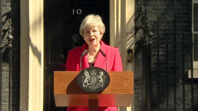 Тереза Мэй и пост премьер-министра