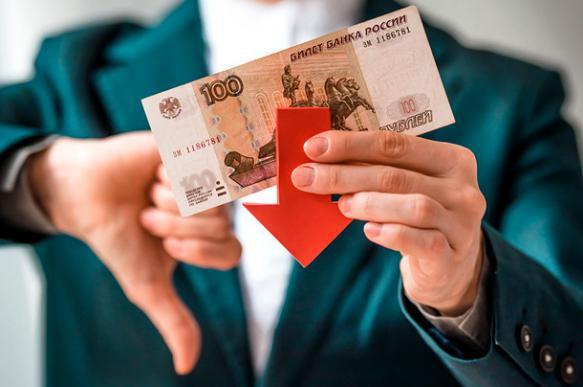 У граждан России есть деньги только на питание