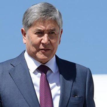Экс-глава Киргизии Атамбаев сдался властям