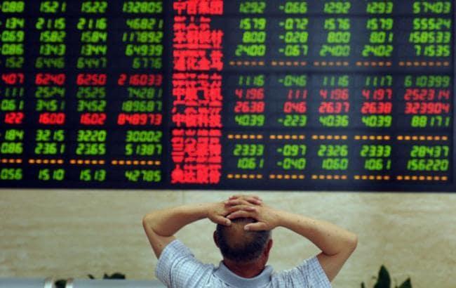Китайские акции на торгах