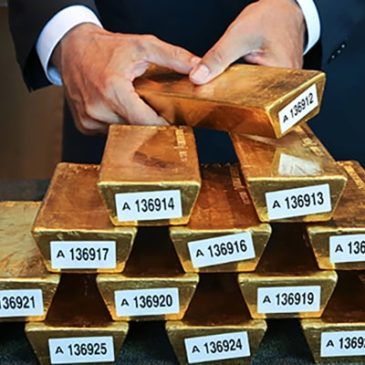 Цены золота остаются прежними накануне заседания ЕЦБ