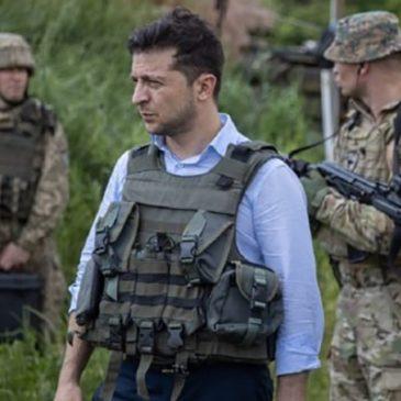 Зеленский озвучил условие прекращения войны на востоке Украины