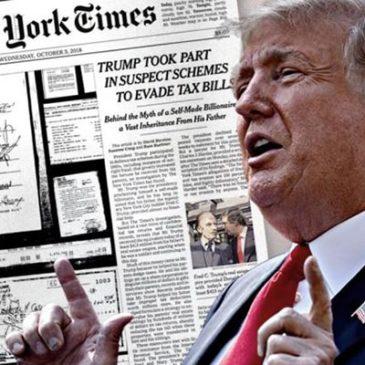 NYT: Трамп из-за налогов покинул Нью-Йорк