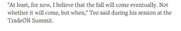 Цитата стратега Л. Тео