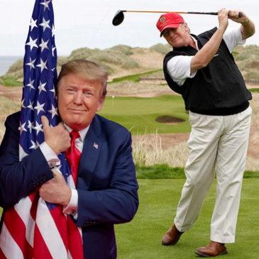 Чем сейчас занимается Дональд Трамп?