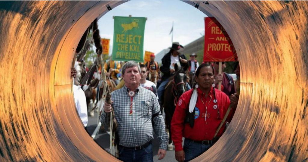 Экологические активисты против нефтебизнеса