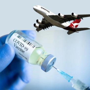 Летаем с Qantas бесплатно!Но придется уколоться от COVID-19