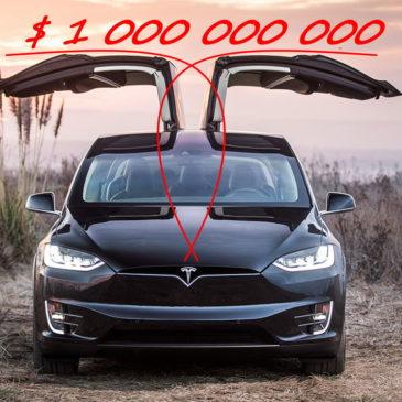 Tesla: первый «чистый» миллиард