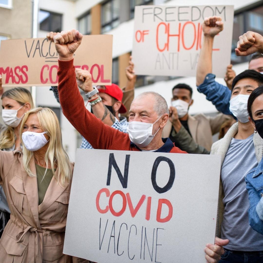 COVID протесты и бунты