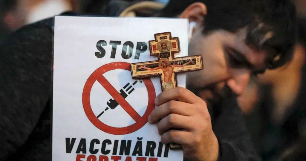 Протесты против локдаунов и прививок